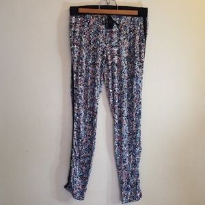 Floral slouchy pant